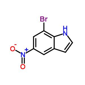 87240-07-1 7-bromo-5-nitro-1H-indole