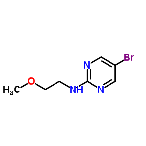 886365-79-3 5-bromo-N-(2-methoxyethyl)pyrimidin-2-amine