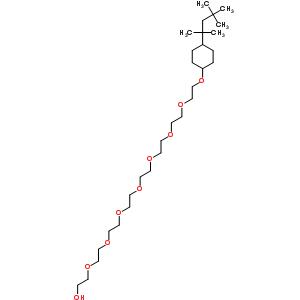 Poly(oxy-1,2-ethanediyl),a-[4-(1,1,3,3-tetramethylbutyl)cyclohexyl]-w-hydroxy- 92046-34-9