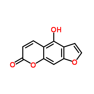 486-60-2 4-hydroxy-7H-furo[3,2-g]chromen-7-one