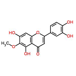 520-11-6 2-(3,4-Dihydroxyphenyl)-5,7-dihydroxy-6-methoxy-4H-chromen-4-one