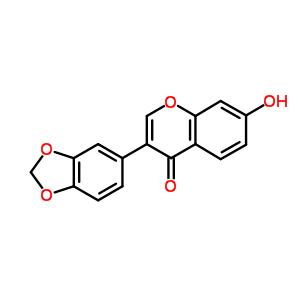 90-29-9 3-(1,3-benzodioxol-5-yl)-7-hydroxy-4H-chromen-4-one