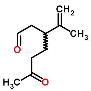 7086-79-5;136521-14-7 3-(1-methylethenyl)-6-oxoheptanal
