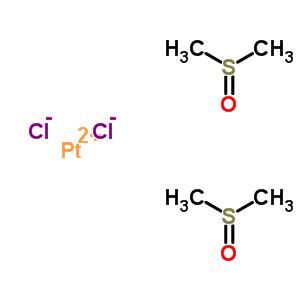 22840-91-1;39336-39-5 platinum(2+) dichloride - sulfinyldimethane (1:2)