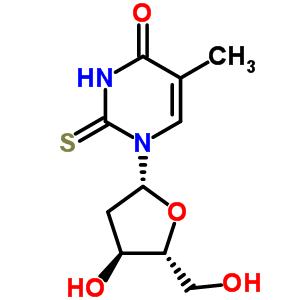 28585-51-5 1-(2-deoxy-beta-D-erythro-pentofuranosyl)-5-methyl-2-thioxo-2,3-dihydropyrimidin-4(1H)-one