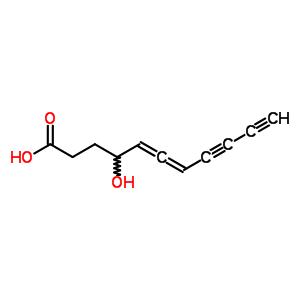 539-98-0 4-hydroxyundeca-5,6-diene-8,10-diynoic acid