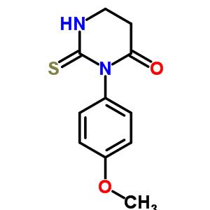 5596-28-1 3-(4-methoxyphenyl)-2-thioxotetrahydropyrimidin-4(1H)-one