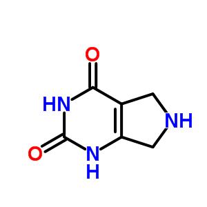 13931-24-3;684202-26-4 6,7-dihydro-1H-pyrrolo[3,4-d]pyrimidine-2,4(3H,5H)-dione