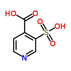 4833-93-6 3-sulfopyridine-4-carboxylic acid