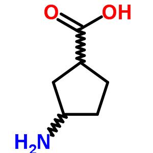 19042-35-4;57376-72-4;89614-96-0 3-Aminocyclopentanecarboxylic acid