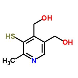 6971-65-9 (6-methyl-5-sulfanylpyridine-3,4-diyl)dimethanol