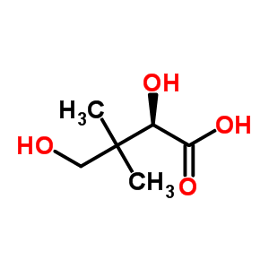 1112-33-0;470-29-1 (2R)-2,4-dihydroxy-3,3-dimethylbutanoic acid