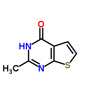 108831-66-9;21582-51-4 6-Methylthieno[2,3-d]pyrimidin-4(3H)-one