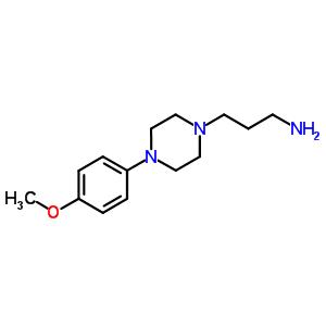40255-50-3 1-(3-ammoniopropyl)-4-(4-methoxyphenyl)piperazin-1-ium