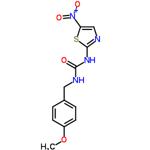 487021-52-3 1-(4-Methoxybenzyl)-3-(5-nitro-1,3-thiazol-2-yl)urea