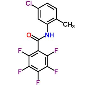 6102-03-0 N-(5-chloro-2-methylphenyl)-2,3,4,5,6-pentafluorobenzamide