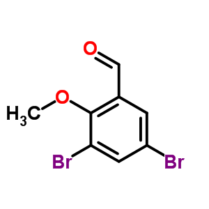 61657-65-6 3,5-dibromo-2-methoxybenzaldehyde