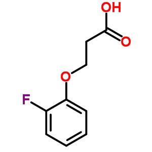 2967-72-8 3-(2-fluorophenoxy)propanoic acid