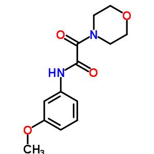 6608-47-5 N-(3-methoxyphenyl)-2-(morpholin-4-yl)-2-oxoacetamide