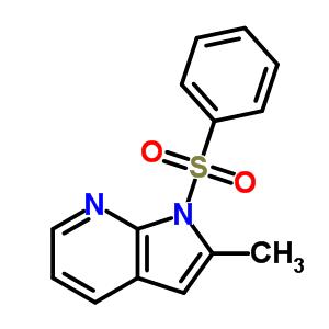 2-Methyl-1-(phenylsulfonyl)-1H-pyrrolo[2,3-b]pyridine 189089-83-6