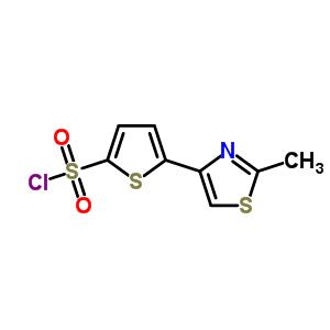 215434-25-6 5-(2-methyl-1,3-thiazol-4-yl)thiophene-2-sulfonyl chloride