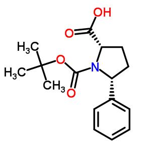 221352-49-4 (5R)-1-(tert-butoxycarbonyl)-5-phenyl-L-proline