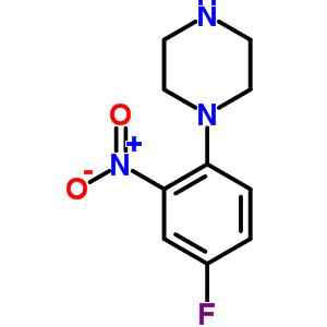 243128-46-3 1-(4-fluoro-2-nitrophenyl)piperazine