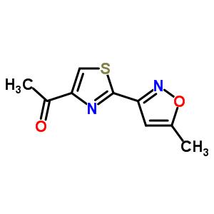263897-90-1 1-[2-(5-methylisoxazol-3-yl)-1,3-thiazol-4-yl]ethanone