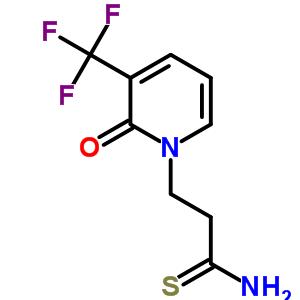 265314-18-9 3-[2-oxo-3-(trifluoromethyl)pyridin-1(2H)-yl]propanethioamide