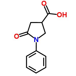 39629-86-2 5-oxo-1-phenylpyrrolidine-3-carboxylic acid