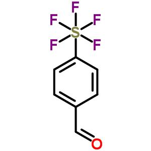 401892-84-0 4-(pentafluoro-lambda~6~-sulfanyl)benzaldehyde