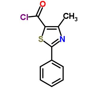 54001-18-2 4-methyl-2-phenyl-1,3-thiazole-5-carbonyl chloride