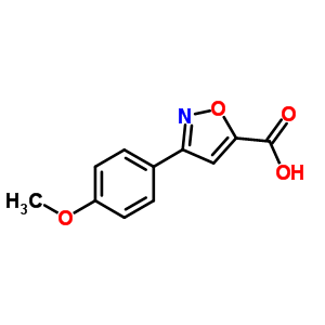 618383-47-4 3-(4-methoxyphenyl)-1,2-oxazole-5-carboxylic acid