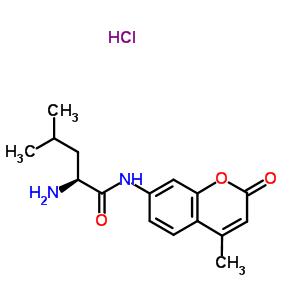 L-亮氨酰7-氨基-4-甲基香豆素盐酸盐 62480-44-8