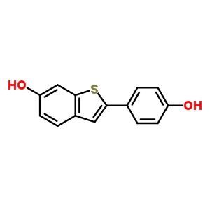 63676-22-2 2-(4-hydroxyphenyl)-1-benzothiophene-6-ol