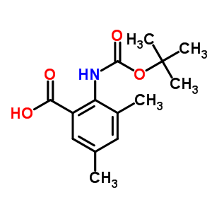 669713-57-9 2-[(tert-Butoxycarbonyl)amino]-3,5-dimethylbenzoic acid