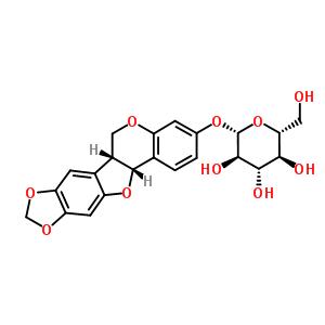 6807-83-6 (6aR,12aR)-6a,12a-dihydro-6H-[1,3]dioxolo[5,6][1]benzofuro[3,2-c]chromen-3-yl beta-D-glucopyranoside