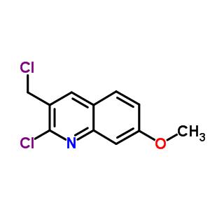73863-49-7 2-chloro-3-(chloromethyl)-7-methoxyquinoline