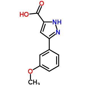 834868-54-1 3-(2-methoxyphenyl)-1H-pyrazole-5-carboxylic acid