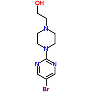 849021-42-7 2-[4-(5-bromopyrimidin-2-yl)piperazin-1-yl]ethanol