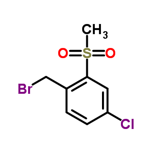 849035-64-9 1-(bromomethyl)-4-chloro-2-(methylsulfonyl)benzene