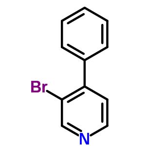 88345-89-5 3-bromo-4-phenylpyridine