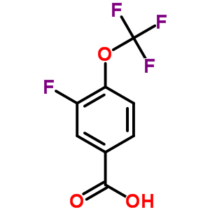 886498-89-1 3-fluoro-4-(trifluoromethoxy)benzoic acid