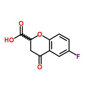 105300-40-1 6-fluoro-4-oxo-3,4-dihydro-2H-chromene-2-carboxylic acid