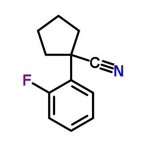214262-89-2 1-(2-fluorophenyl)cyclopentanecarbonitrile