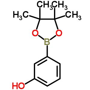 214360-76-6;269409-97-4 3-(4,4,5,5-tetramethyl-1,3,2-dioxaborolan-2-yl)phenol