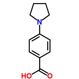 22090-27-3 4-pyrrolidin-1-ylbenzoic acid
