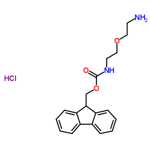 221352-88-1 9H-fluoren-9-ylmethyl [2-(2-aminoethoxy)ethyl]carbamate hydrochloride
