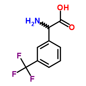 242475-26-9 (2S)-amino[3-(trifluoromethyl)phenyl]ethanoic acid