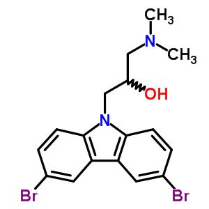 253449-04-6 1-(3,6-dibromo-9H-carbazol-9-yl)-3-(dimethylamino)propan-2-ol